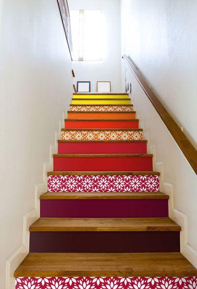 s lection d 39 id es pour habiller un escalier frogy. Black Bedroom Furniture Sets. Home Design Ideas