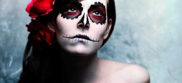 Idée maquillage Dia de los muertos