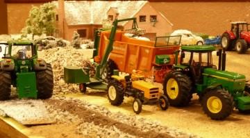 Diorama Miniatures Agricoles