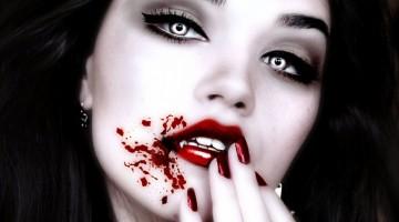 maquillage pour halloween vampire